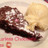 Valentine's Day or Date Night Recipe-Flourless Chocolate Cake