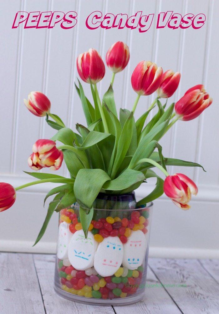 Peeps Flower vase
