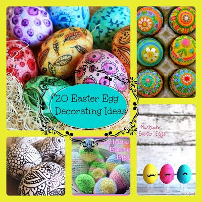 Spring or Easter Recipes and easter crafts