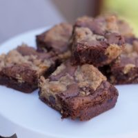 Brookies Recipe-  Brownie and Chocolate Chip Cookie Bars