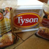 Baked Steakhouse Chicken made Easy with Tyson Flavored Chicken Breasts #CBias