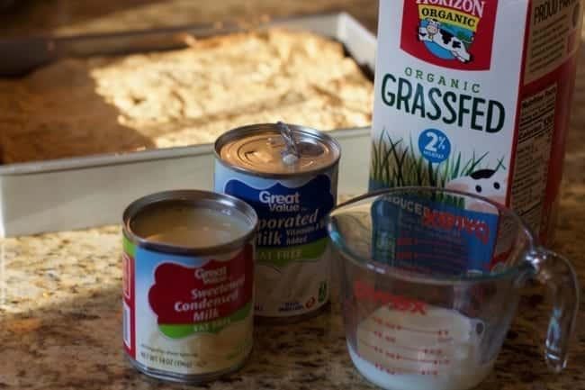 Tres Leche Cake Recipe with Horizon Grassfed Milk