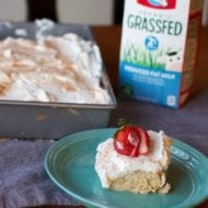 Tres Leche Cake Recipe with Horizon Grassfed Milk