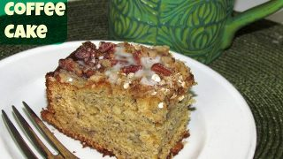 Go Bananas with this Brunch or After School Quick Recipe Idea: Banana Coffee Cake Recipe