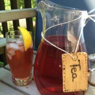 Pitcher Labels-Ballard Designs Knock Off Hostess Gift Idea