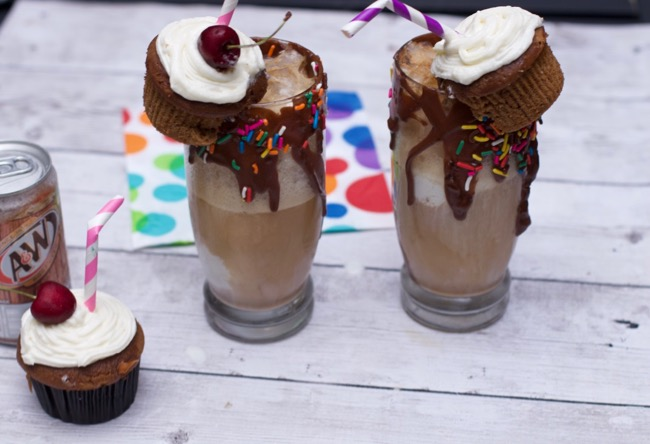 Ultimate Root Beer Float and Cupcake Recipe