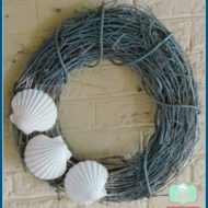 Summer Crafts: Simple Beach Theme Wreath
