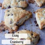 Mother's Day Brunch Cranberry Scones Recipe