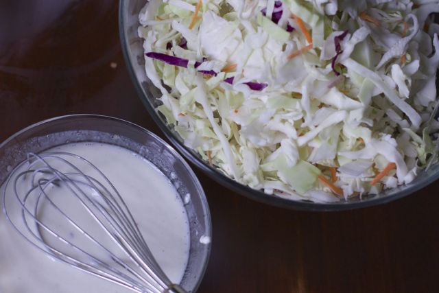 homemade low fat cole slaw recipe