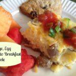 Mother's Day Brunch Recipe: Make ahead Breakfast Casserole