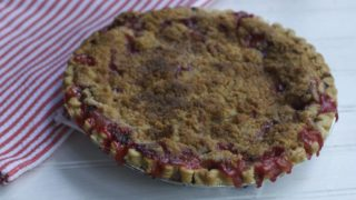Mothers Day Brunch Recipe--Strawberry Rhubarb Pie