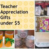 DIY Handmade Teacher Appreciation Gifts from Pinterest
