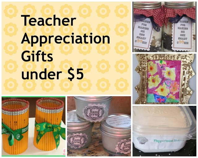 DIY Handmade Teacher Appreciation Gifts from Pinterest
