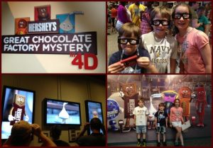 4d movie chocolate world