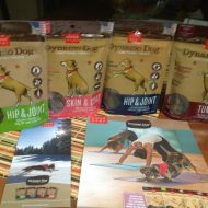 Dog Days part 2- Treats with a benefit CloudStar Dynamo Healthy Dog Treats #Giveaway