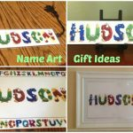 Need a gift idea for a New Baby Gift? Name Art Review & Giveaway.