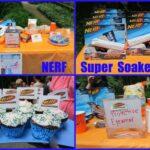 Summer Birthday Party Ideas– NERF Water Blaster