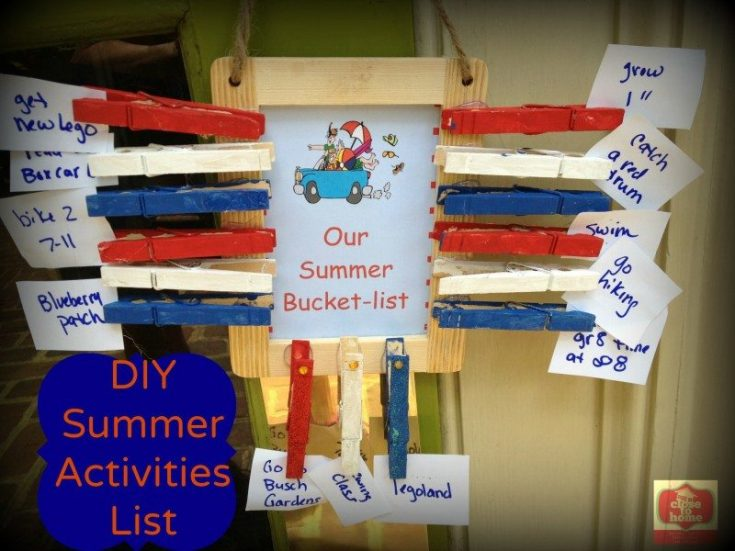 Summer Bucket-list Things to do this summer!