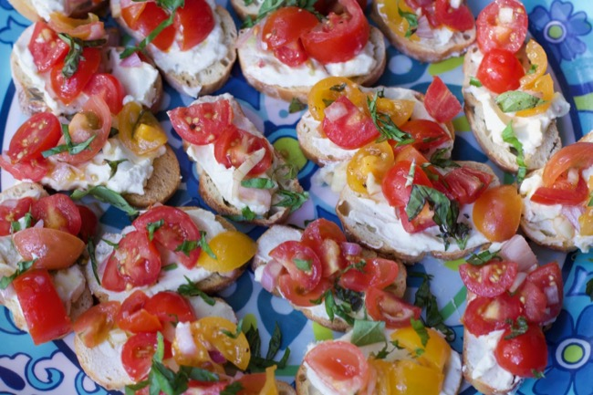 make ahead summer appetizer whipped feta spread 1