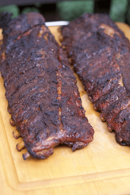 how to smoke ribs on the grill