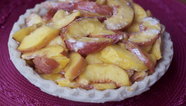 easy peach pie recipe