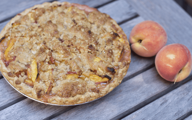 Easy Summer Peach Pie Recipe