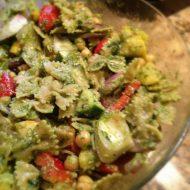 Grilled Vegetable Pesto Pasta Salad Recipe