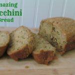 Amazing Zucchini Bread- #KidsCookMonday
