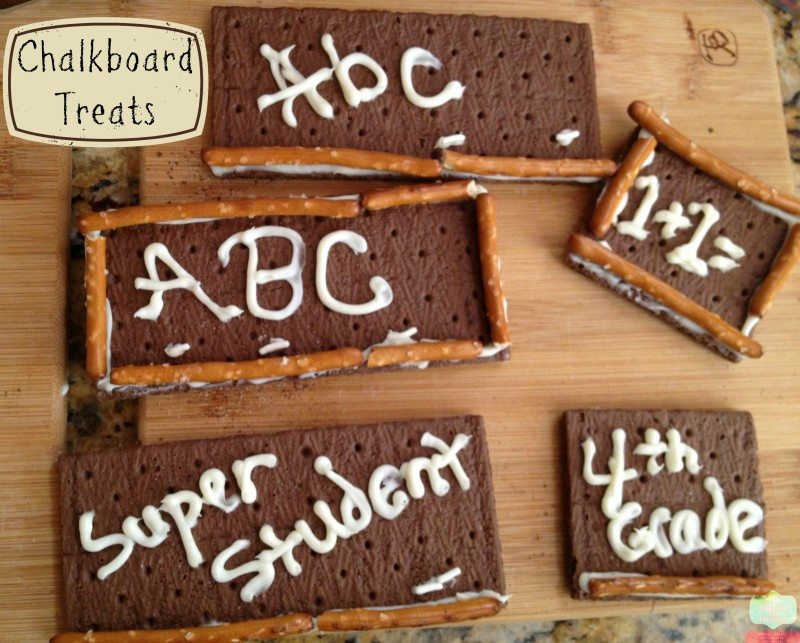 Back to School Treat: Edible Chalkboard Treats