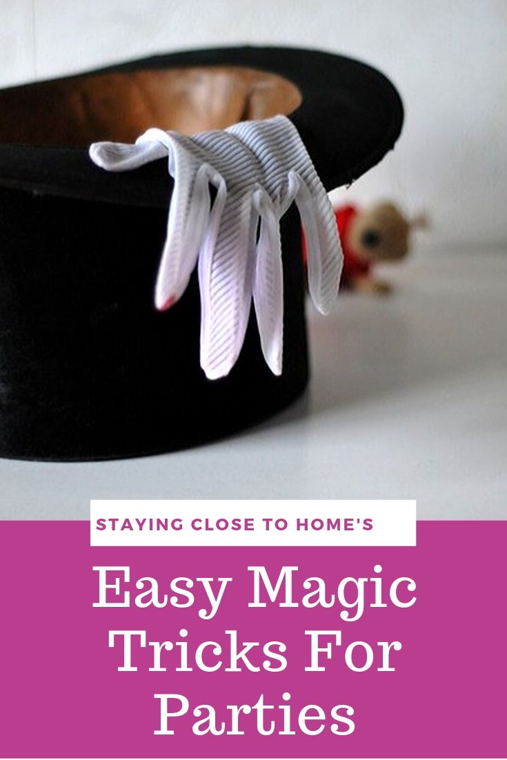 Easy Magic Tricks for Kids Birthday Parties