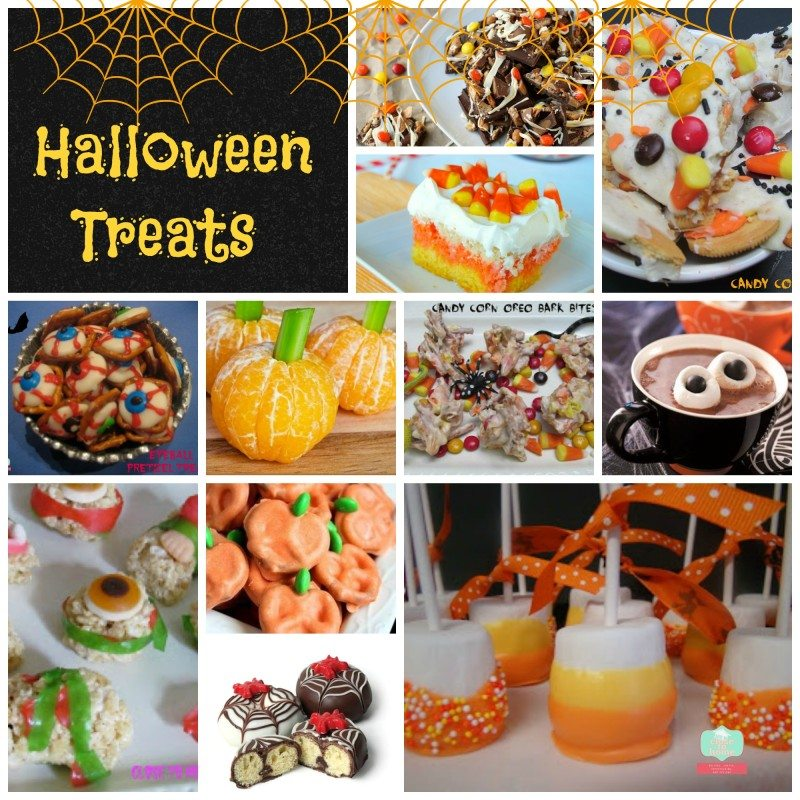 Halloween treats Collag