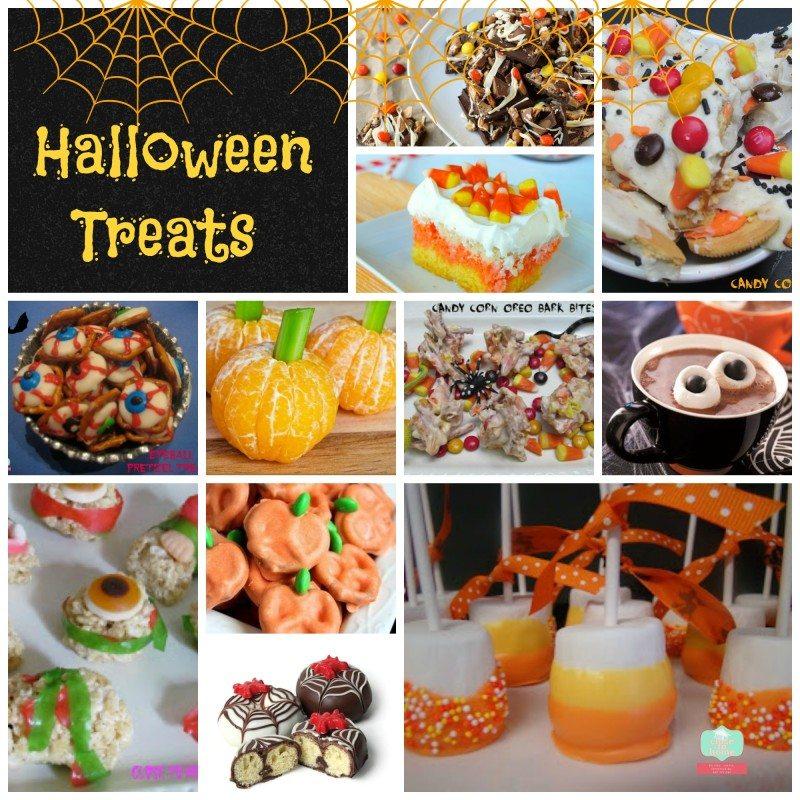 Halloween treats Collag