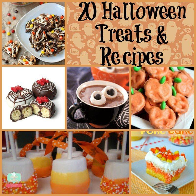 Halloween treats Collage