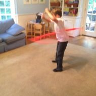 Get the kids off the couch and start to hula hoop or Hoopersize!