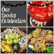 Halloween Baking and Halloween Punch a Spooky Celebration