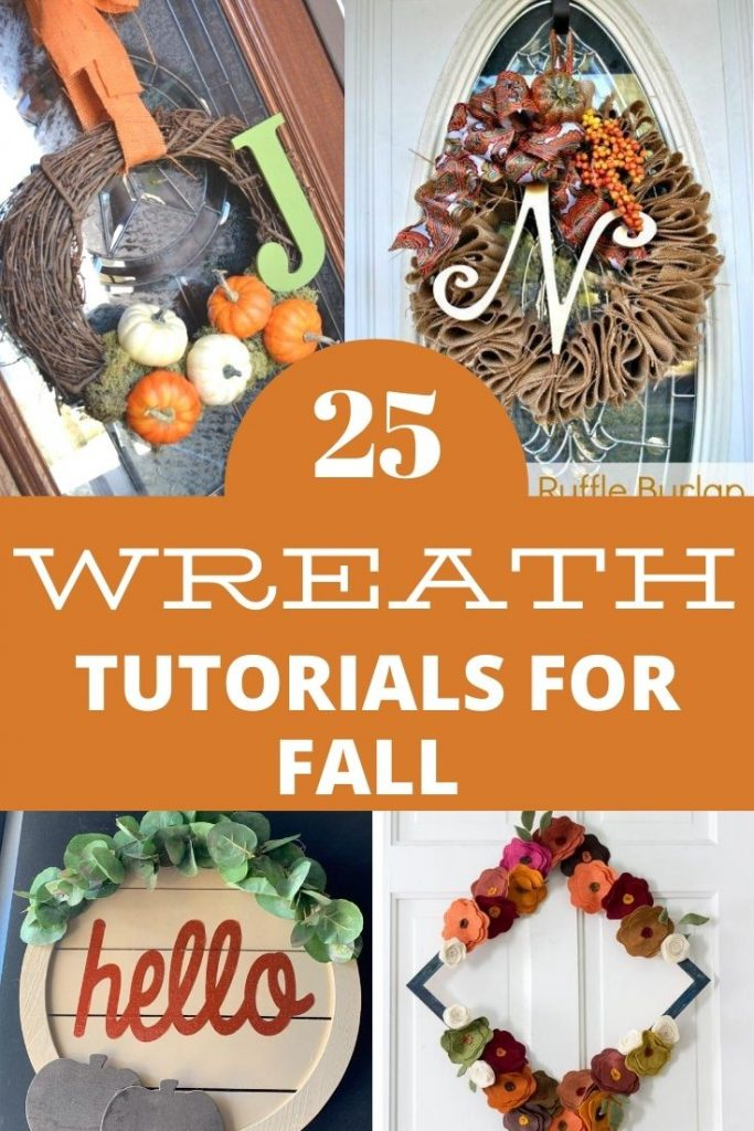 WREATH TUTORIALS FOR FALL