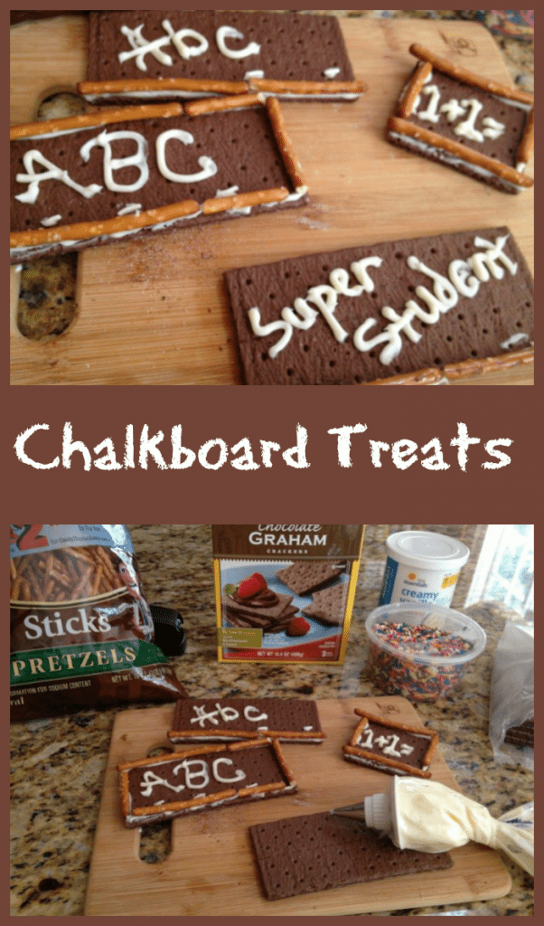 back to school recipes chalkboard treats