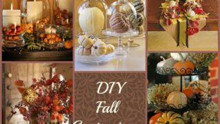 Simple DIY Fall Centerpieces