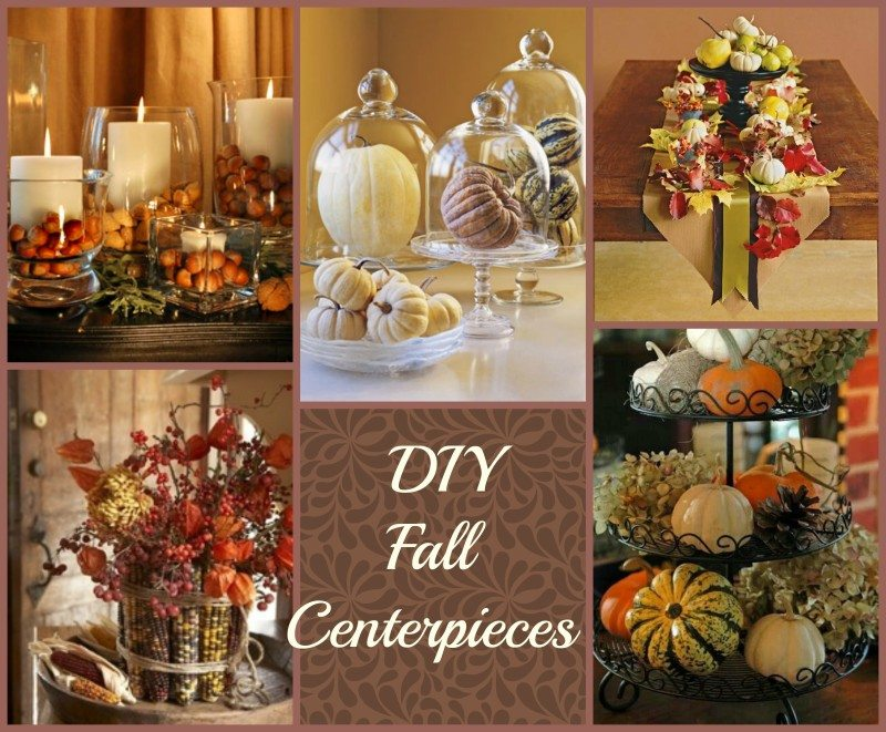 Simple diy fall centerpieces