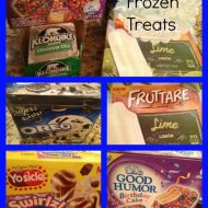 You scream I scream we all scream for ICE CREAM Frozen treats!!  #sponsored