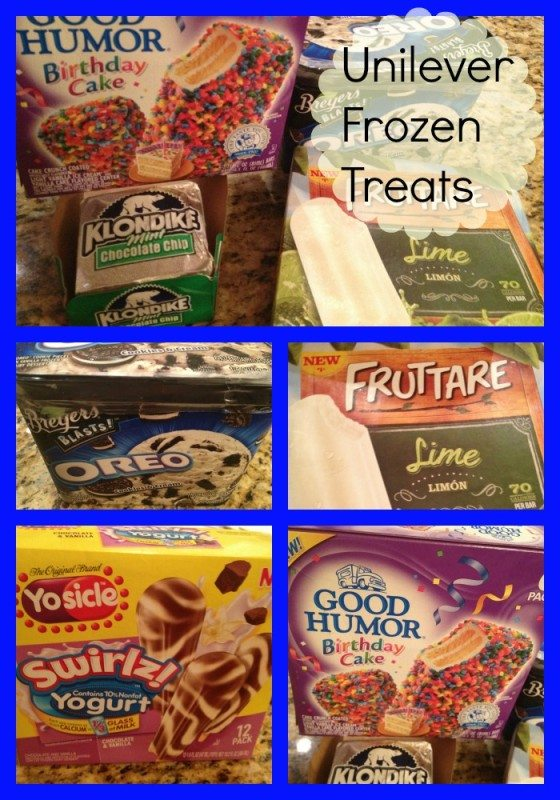 Our Favorite New Frozen Treats From Unilever