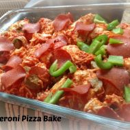 Back to School Easy Dinner Ideas- Easy Pizza Casserole