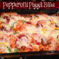 Back to School Easy Dinner Ideas- Easy Pizza Casserole