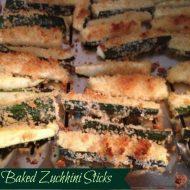 Baked Zucchini Sticks Recipe
