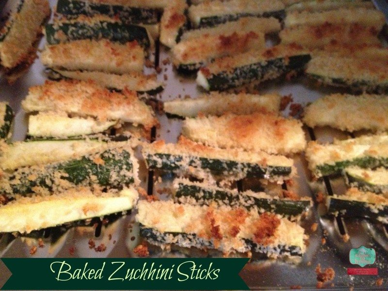 Baked Zucchini Sticks Recipezuchhini recipe