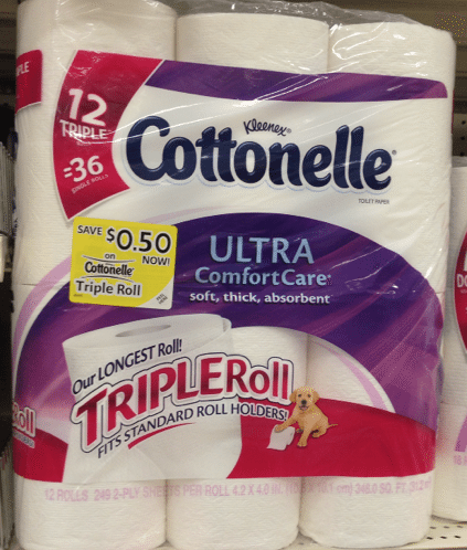 COTTONELLE TRIPLE ROLL 12 PACK