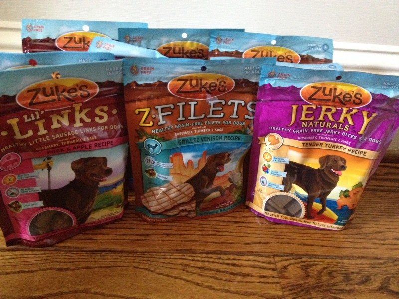 safe dog treats Zukes