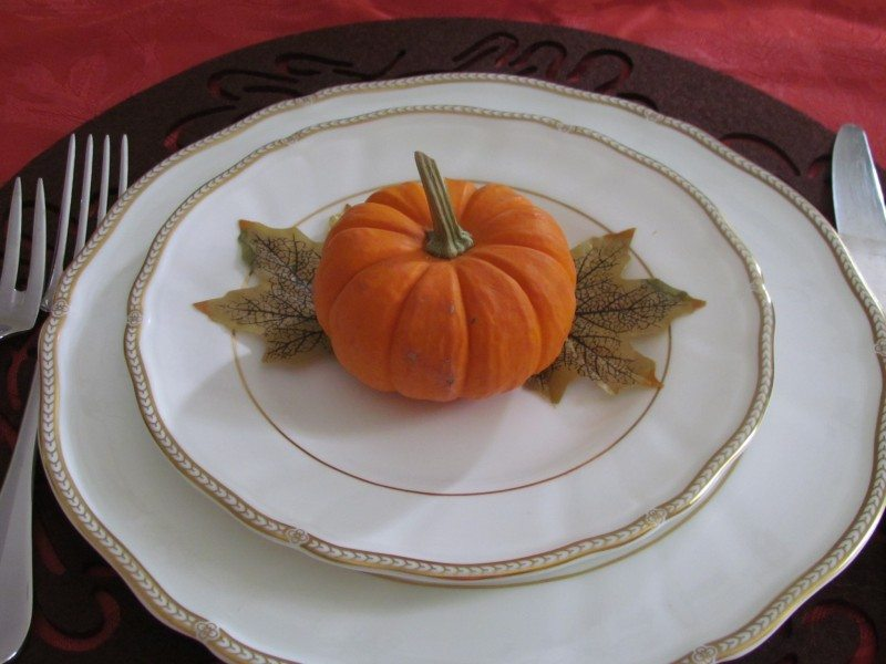 thanksgiving place card Edible Thanksgiving Placeholders