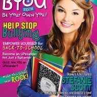 'Be Your Own You Magazine!' Tween @BYOUMagazine #giveaway