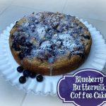 Buttermilk Coffee Cake Recipe–You pick the flavor